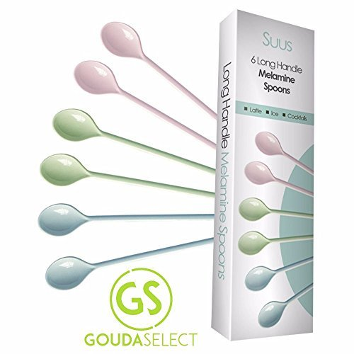 gouda-select-set-of-6-colorful-long-handle-melamine-latte-spoons-ice-cream-cocktails-stirring-by-gou