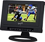 "Supersonic Sc-199 9"" Portable Rechargeable Lcd Tv/dvd with Usb & Sd Inputs"