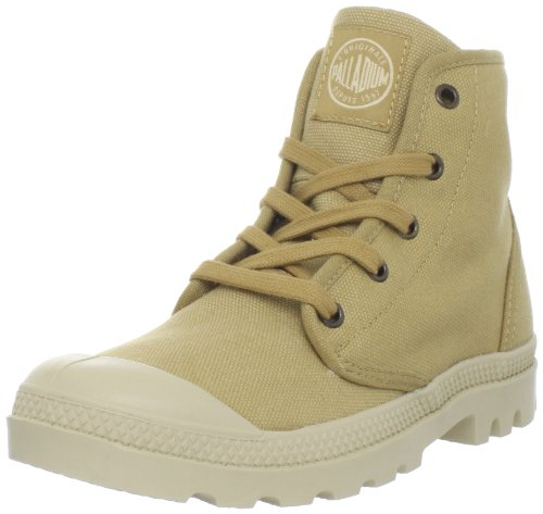 PALLADIUM Women's Pampa Hi-w Mustard / Putty Walking Shoe 92352-280-M 3.5 UK