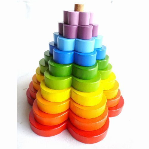QToys Australia Stacking Flower (New Arrival) - 1