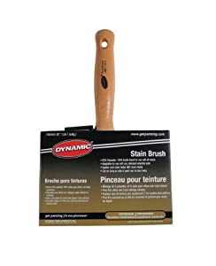 Dynamic HB217015 Professional Stain Paintbrush, 6-Inch