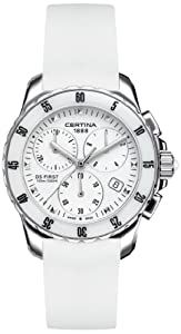 Certina C014.217.17.011.00 - Reloj de pulsera mujer, caucho
