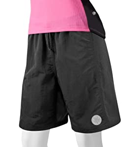 ATD Ladies Baggy Padded Mountain Bike Shorts Loose Fitting by Aero Tech Designs