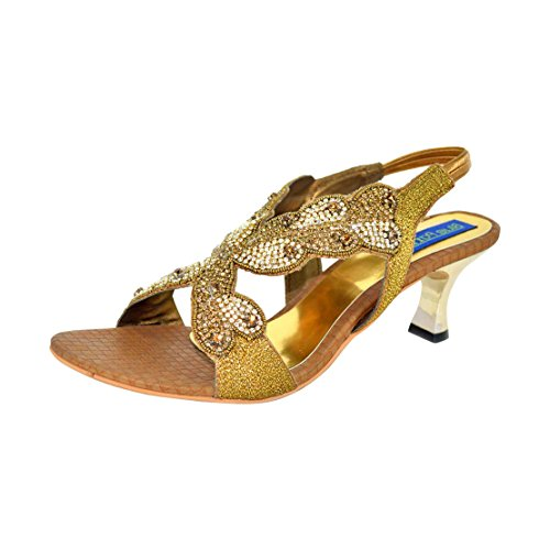 Blue Parrot Blue Parrot Women 4137 Synthetic Ethnic Sandals (Green)