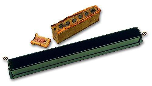 Mini pâté en croûte uni professionnel avec fond Exopan 500 x 40 x 60 mm