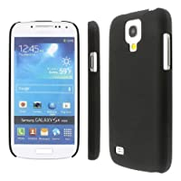 MPERO Collection Slim-Fit Hard Rubberized Black Case For Samsung Galaxy S4 Mini