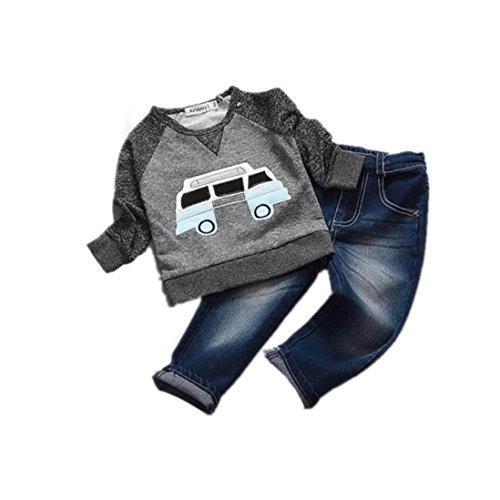 kingkor-toddler-boys-outfit-clothes-car-print-t-shirt-tops-long-jeans-trousers-1set-2-year-old-gray