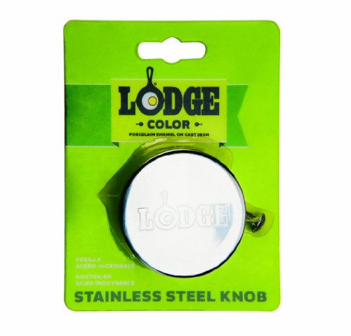 Lodge ECSSK Replacement Knob, Stainless Steel, 2-inch