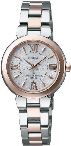 [セイコー]SEIKO 腕時計 LUKIA ルキア 電波ソーラー パウダリーホワイト SSVE046 レディース