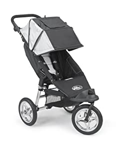 Baby Jogger 2007 City Single Stroller - Black/Silver (Discontinued by Manufacturer)