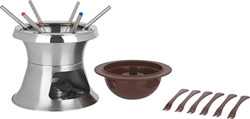 Trudeau 3 in 1 Double Boiler 1.5 quart Fondue Set