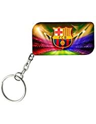 FC Barcelona | ShopTwiz WOODEN Key Ring - B01JWAOFNQ
