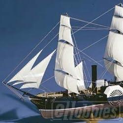 大型帆船 No.10 1/150 黒船 (サスケハナ)