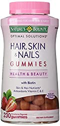 Nature's Bounty Hair Skin and Nails, (230 Gummies)