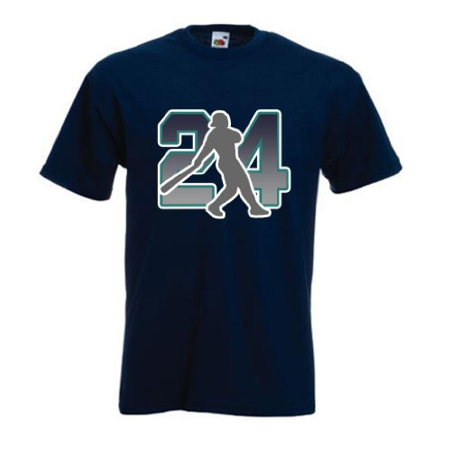 Ken Griffey Jr. Seattle Mariners T-shirt Large at Amazon.com