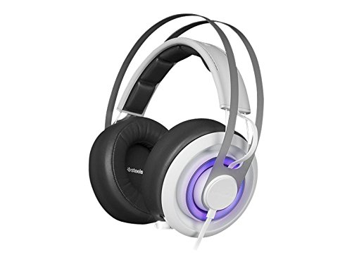 SteelSeries Siberia 650 Gaming Headset - White (formerly Siberia Elite Prism) (Color: White)