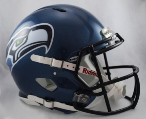 NFL Seattle Seahawks Revolution Speed Mini Helmet at Amazon.com