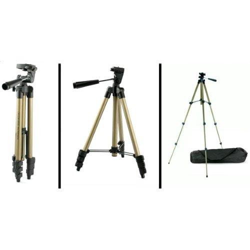 Systafex ® Stativ Kamera Digitalkamera Camcorder S4 für Canon EOS 600D 650D 700D 1100D M