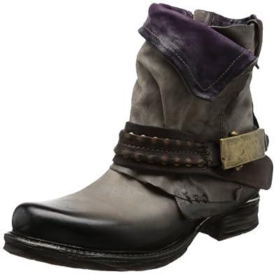 airstep 717207 boots biker femme marron braun rock ebano uva 8554 39 eu. Black Bedroom Furniture Sets. Home Design Ideas