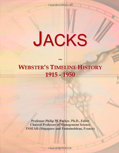 Jacks: Webster's Timeline History, 1915 - 1950