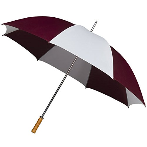 impliva-manual-golf-umbrella-burgundy-white-mens-umbrellas-gp-2-8070-8111-2-umbrellas-supplied