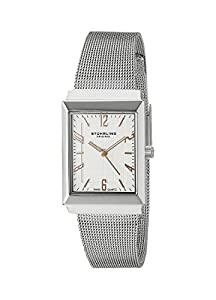 Stuhrling Original Women's 8126L.12112 Ultra-Slim Stainless Steel Watch with Mesh Bracelet