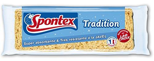 spontex-eponges-blondes-2-eponges-tradition-n4-lot-de-3
