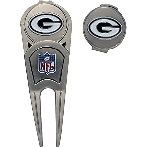 McArthur Green Bay Packers Divot Tool and Hat Clip Combo by WinCraft