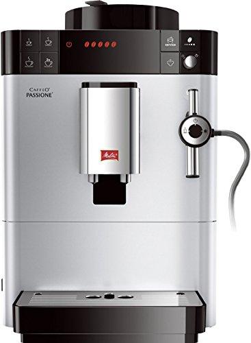 Melitta F53/0-101 Caffeo Passione Kaffeevollautomat Silber thumbnail