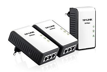 TP-LINK TL-PA4030TKIT 500 Mbps Pack de 3 Adaptateurs CPL (3 Ports Ethernet)