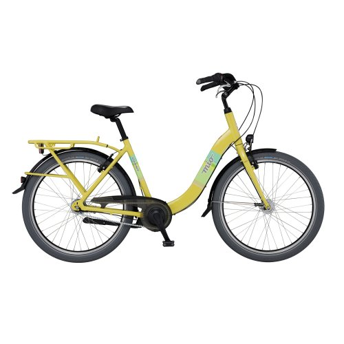 Giant Mio CS2 Ladies yellow (2013) (Frame size: 55 cm) City bike womens 7 Speed