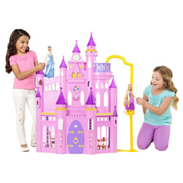 Amazon.com: Disney Princess Ultimate Dream Castle: Toys & Games