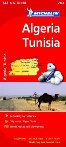 Algeria, Tunisia (Michelin National Maps)