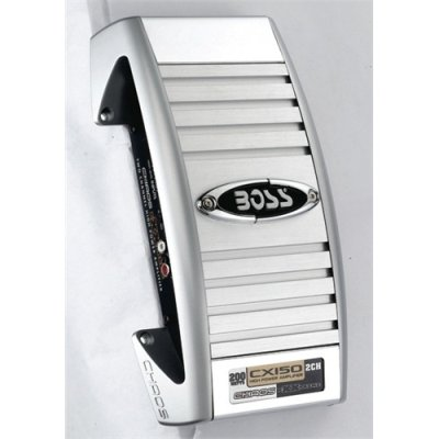 Boss Cx150 200w 2 Ch Car Audio Amplifier Amp 200 Watt 2 Channel