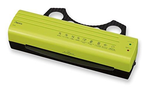 アスカ(Asmix) ラミネーター A4 グリーン R24b-G