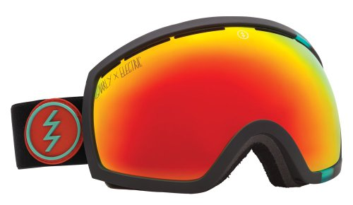 Electric Eg2 Snow Goggle, Gnarly, Bronze/Red Chrome