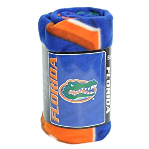 Buy Florida Gators Lightweight Fleece Blanket Throw (50 x 60) by NCAA