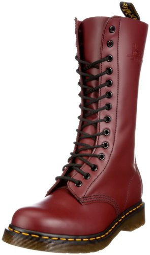 Dr. Martens Unisex - Adults 1914Z DMC SM-CR 11855600 Boots 11855600 Cherry Red 9.5 UK