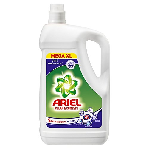 Ariel Professional Actilift™Clean & Compact Regular Liquid 100sc 5L (Pack of 3 x 5ltr)