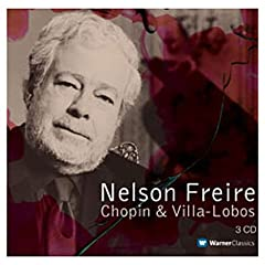 Freire plays Chopin & Villa-Lobos cover