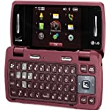LG enV3 Cellular Phone Red - Verizon