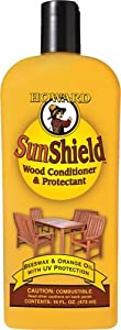 Howard SWAX16 SunShield Outdoor Furniture Wax with UV Protection, 16-Ounce by Howard Products