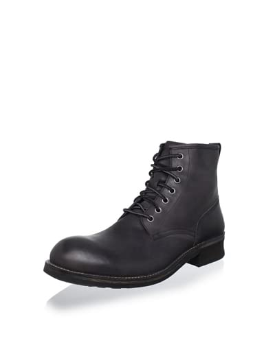John Varvatos Star USA Men's Moto Lace Boot  [Coal]