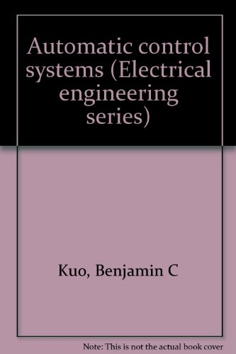 Automatic Control Systems (Automatic Control Systems Kuo compare prices)