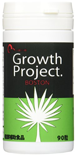 毛髪大作戦Growth Project. BOSTON(ボストン) 育毛サプリメント 1ヵ月分(90粒)