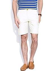 Hubberholme Slim Fit Shorts (H6808_36_Cream)