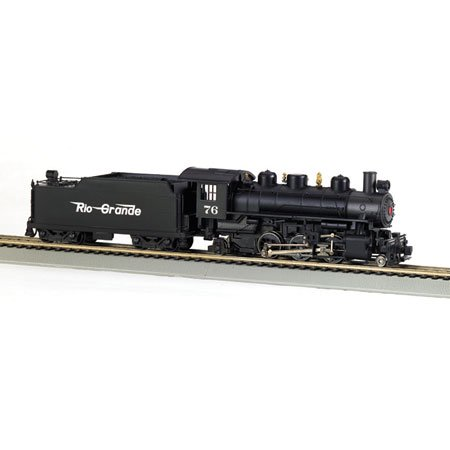 Bachmann Trains Prairie 2-6-2 With Smoke And Tender - Rio Grande (Flying Grande) front-518525