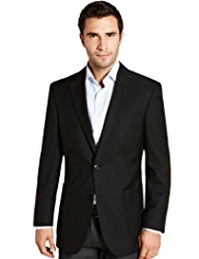 Slim Fit Machine Washable & Tumble Dry Blazer