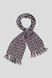 Classic Collection Lightweight Chenille Houndstooth Scarf [T01-5093C-S]