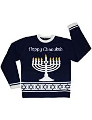 Ugly Holiday Sweater Lighted Chanukah